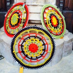 crochet hoops stump