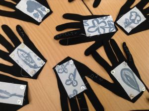 woad hands